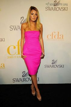 Blake Lively at the 2009 CFDA Fashion Awards in New York City on June 15, 2009.