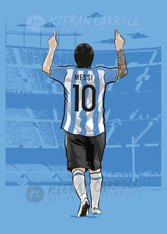 God Of Football, Football Players, Barcelona Soccer, Fc Barcelona, Messi Poster, Football Player Drawing, Antonella Roccuzzo, Lionel Messi Wallpapers, Argentina Football