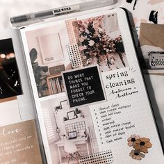 Spring Cleaning ✨ What's your least favorite chore to do? Let me know through comment down belowMine is cleaning my bathroom Spring Cleaning ✨ What's your least favorite chore to do? Let me know through comment down belowMine is cleaning my bathroom Bullet Journal Aesthetic, Bullet Journal Spread, Bullet Journal Inspo, Scrapbook Journal, Journal Layout, My Journal, Travel Scrapbook, Journal Notebook, Smash Book