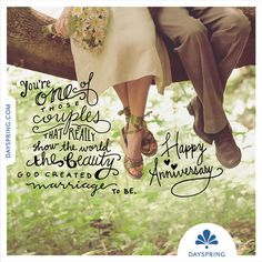To one of those couples that really show the world the beauty God created marria… - Modern