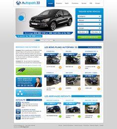 Autopark33 - idéveloppement : création de site internet bordeaux #webdesign #frontend #backend