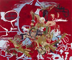 """Martin Kippenberger's """"Untitled"""" 1996 from The Raft of the Medusa"""