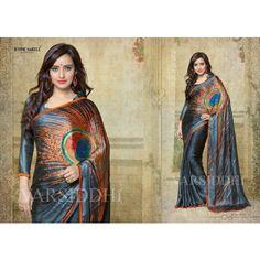 Neha Sharma Printed saree - Online Shopping for Bollywood Sarees