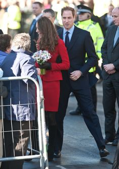 Prince William and Kate Middleton at St Andrews University 2