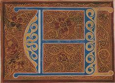 Spanish Calligraphy - Caso quadrado para principios (detail)