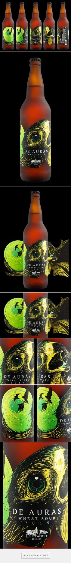 De Auras Wheat Sour —beer by Hired Guns Creative