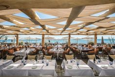 Riviera restaurants: The best new beachside tables in Saint-Tropez Philippe Starck, Banquettes, Saint Tropez, Ibiza, Vacation Images, Container Bar, Restaurants, Vegetable Seasoning, Summer Time