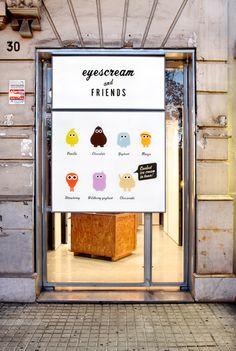 »Eyescream« in Barcelona, Design by m Barcelona