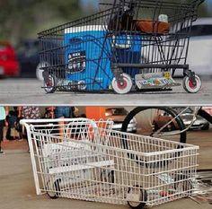 Custom shopping carts..