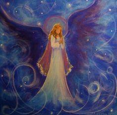 Best 25+ Angel paintings ideas on Pinterest   Angel art, Angel ...
