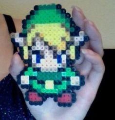 8 bit art. Zelda characters, Mario characters,...