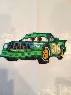 Chicks Hicks Cars perler beads by BayCollections1