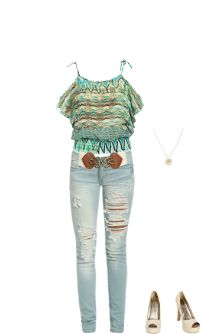 WetSeal.com Runway Outfit:  I love heels by ChristaLovesFashion. Outfit Price $82.99