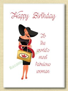 1646 Best Female Birthday Cards Images In 2019 Happy B Day Happy