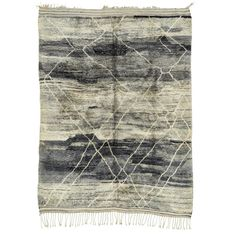 """Casablanca Moroccan Wool Rug 10'2""""x14'9"""" (36.372.345 COP) ❤ liked on Polyvore"""
