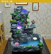 Ornamental fonte de água de marinha, Revestimento de peixes da lagoa bonsai início sala artesanato ornamento(China (Mainland))