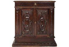 Antique Renaissance-Revival Cabinet on OneKingsLane.com
