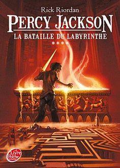 Saga Percy Jackson de Rick RIORDAN : tome 4 la bataille dulabyrinth