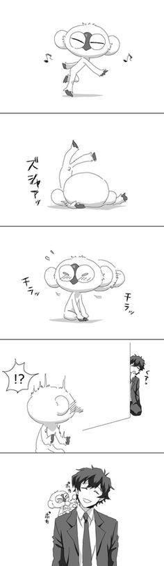 「レオとソニックがわいわいしてるだけ」/「こいつ」の漫画 [pixiv]