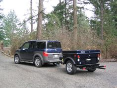 Honda Element Camper Trailers for Outdoor Adventures by Tentrax