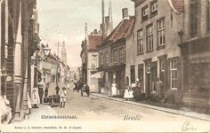 De Ginnekenstraat in 1901