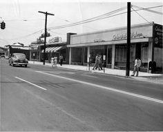 Wilson Boulevard, Clarendon Area of Arlington, VA in the 1950's