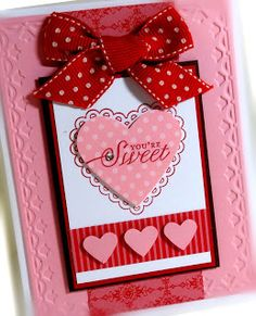 Stampin' Up! Valentine   by Chat Wszelaki at Me, My Stamps and I