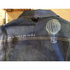 Customised denim jacket in our #PepeJeansCustomStudio