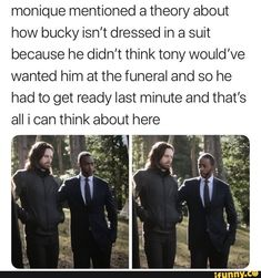im about to fucking cry Bucky has no one, he just had Steve and now he's gone too, my heart is broken Funny Marvel Memes, Marvel Jokes, Avengers Memes, Marvel Dc Comics, Marvel Avengers, Marvel Heroes, Superhero Memes, Sebastian Stan, Infinity War