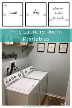 Printable Art – Wash, Dry, Place in Basket for Weeks – Diy Poject Ideas Cheap Bedroom Decor, Cheap Home Decor, Diy Home Decor, Diy Furniture Projects, Diy Projects, Project Ideas, Laundry Room Printables, Indian Home Interior, Household Chores