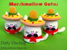 cinco de mayo marshmallow cats tutorial