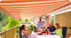 Home #patio #awnings