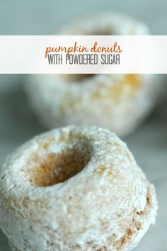 Pumpkin Donuts Recipe! Easy Fall Dessert Recipe for Thanksgiving!: