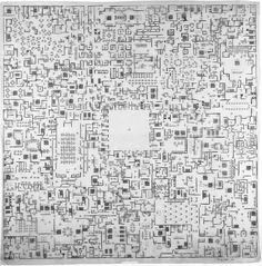 """The Architecture of Madness"": León Ferrari's Héliographias  http://socks-studio.com/?p=22707"
