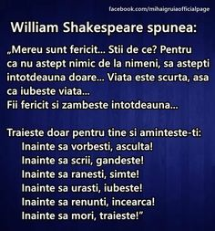 Fotografie William Shakespeare, Ursula, Google, Wisdom, Signs, Words, Quotes, Inspiration, Movies