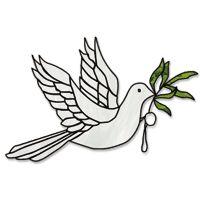 Free Pattern, Peace Dove