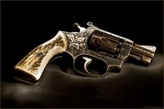 engraved S&W .38