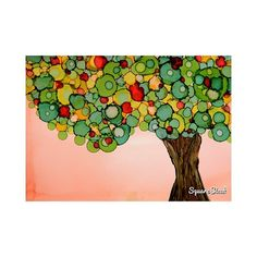TITLE: Late Summer SIZE: 5 x 7 (13 cm x 18 cm) MEDIUM: Alcohol Ink on Yupo Paper MATERIAL: Alcohol Ink Yupo Paper White Double Mat COLORS: colorful ABOUT THIS PAINTING: beautiful tree with green leaves bearing fruit in late summer. Nature please give the fruit some time to turn into a sweet juicy harvest. #dreamynature #artgallery #yupopaper #contemporaryart #affordable #tree #treepainting #landscape_lovers #treeoflife #latesummer #artcollector #seasonal #painting #artwork #walldecorating…