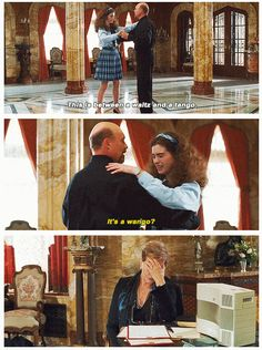 After watching this with Jenny recently I remember how much I love these movies :) The Princess Diaries -- So it's a wango?