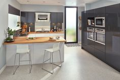 Culinary Delight u-shape kitchen available at Bunnings. #kitchen #ushape