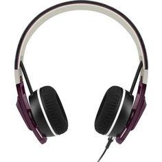 SENNHEISER Urbanite on-ear headphones ($130) ❤ liked on Polyvore featuring accessories, tech accessories, sennheiser headphones, samsung galaxy headphones, urban headphones and sennheiser