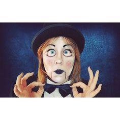 #MAKEUP les ventriloques sont de sortie pour #halloween  #ventriloquist #makeupartist #halloweenmakeup