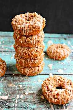 Pumpkin Coffee Cake Donuts | 27 Pumpkin Desserts That Are Perfect For Fall