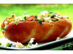Lobster Rolls with Lemon Vinaigrette and Garlic Butter