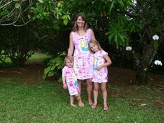 Mother/Daughter Coordinating Dresses Hand by PetrinaBlakely, $60.00  Wonderful feature today - perfect Valentine's or Mother's day gift