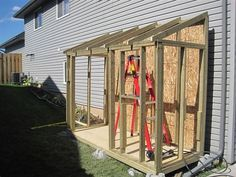 Lean To Shed DIY lean to shed guide House Shop our selection of Lean To Simple to follow building plans This style building is perfect