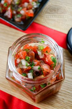 Simple and perfect.  Pico de gallo is the quintessential fresh salsa, and this recipe (with useful quantities, measurements and tips) is the best way to get started.
