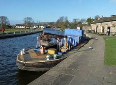 Cafe at the Top of the Bingley Five Rise Locks, Leeds Liverpool Canal, Yorkshire by woodytyke, via Flickr