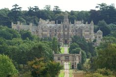 Harlaxton College, England  Son & daughter-in-law studied here.