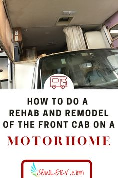 Front Cab Rehab of a Motorhome | SOWLE RV Marine Grade Plywood, Rv Mods, New Panel, Diy Projects Cans, Used Rv, Diy Rv, Side Window, Class B